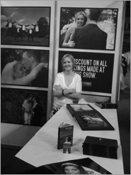 Our stand at the Odyssey Arena Wedding Fayre in 2008