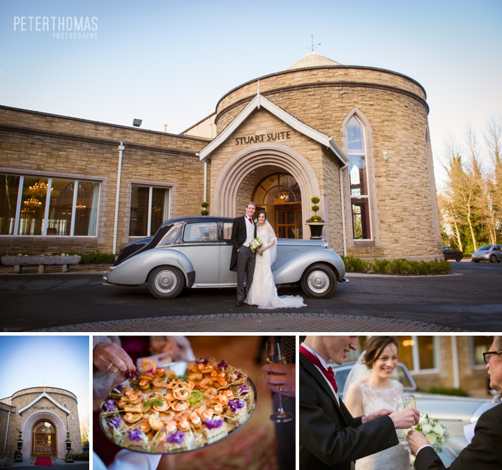 Winter wedding at Culloden Estate and Spa