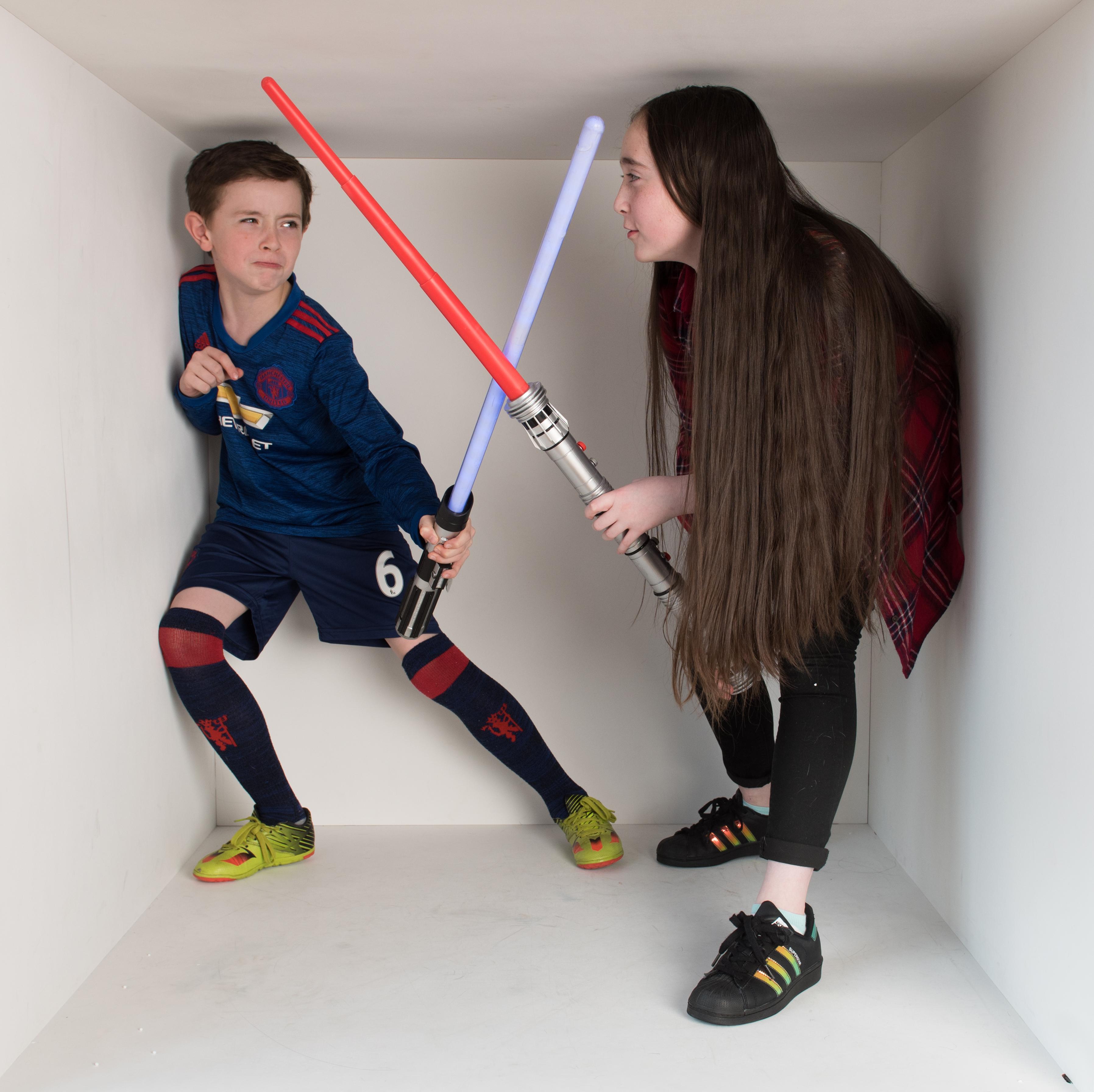Star Wars, light sabers